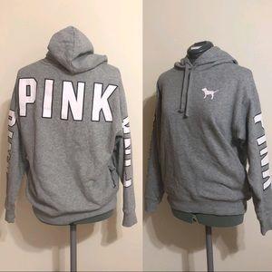 Pink VS Gray Hoodie